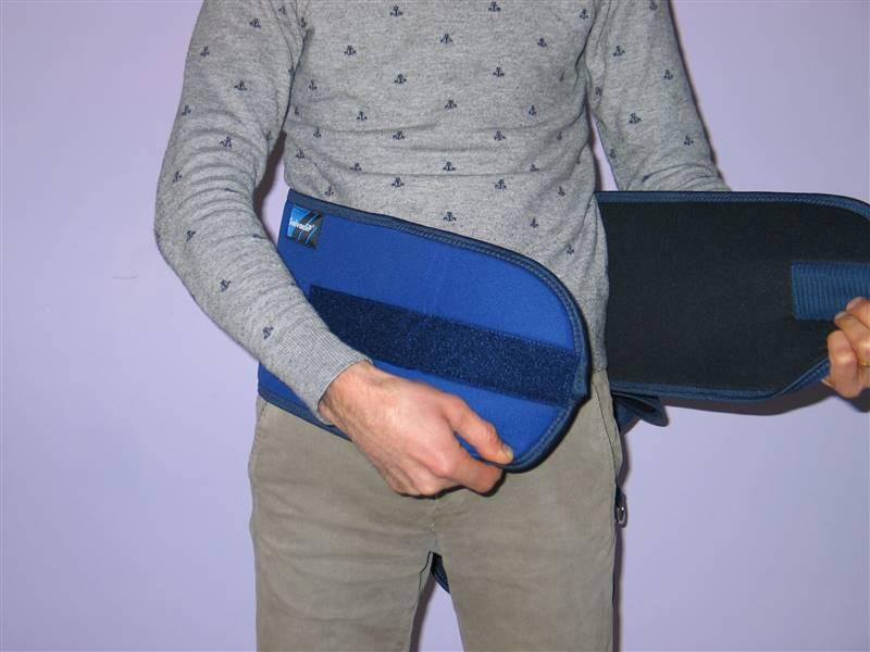 cintura di contenzione letto - come si indossa 1