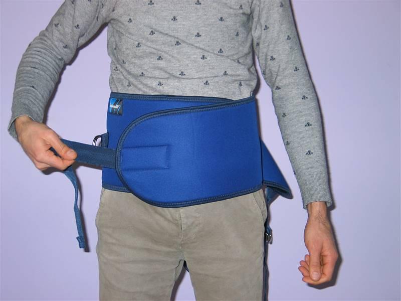cintura di contenzione letto - come si indossa 2