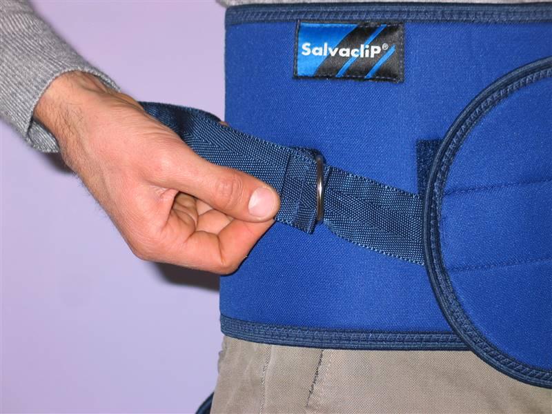 cintura di contenzione letto - come si indossa 4