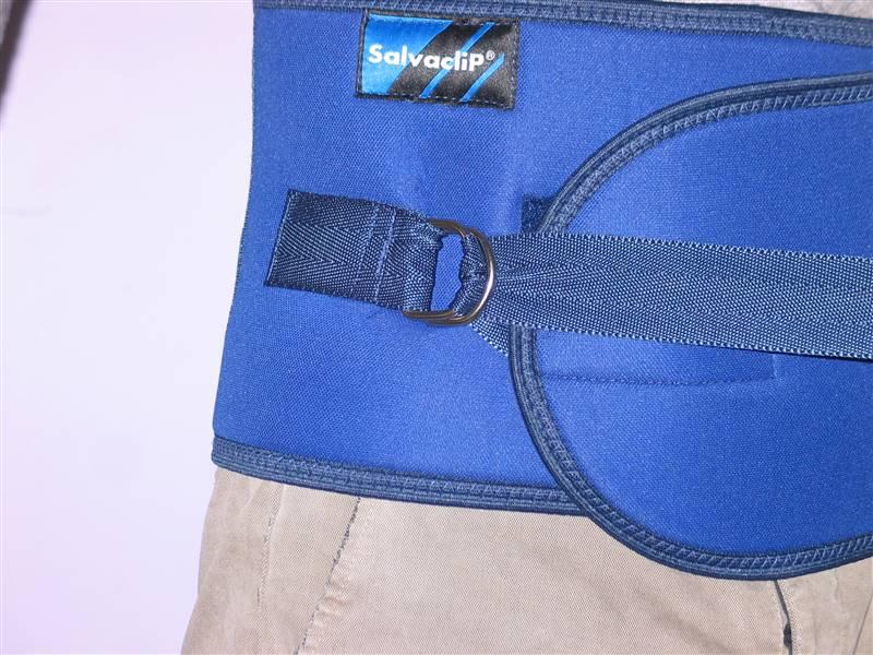 cintura di contenzione letto - come si indossa 5