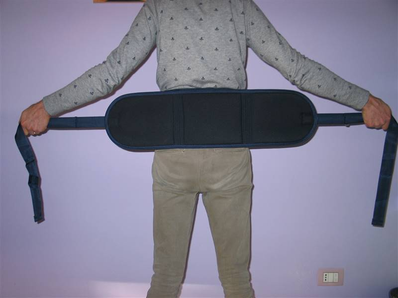 cintura di contenzione letto - come si indossa 6